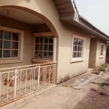 Tastefully Built 3 Bedroom Bungalow Fenced and Gated, Fully Tiled, Kitchen Cabinet, Store Etc, Ibadan, Oluyole, Oyo, Detached Bungalow for Sale