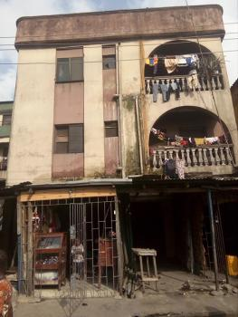 a Two Storey + Penthouse, New Road, R/about, Amukoko, Iganmu, Lagos, Block of Flats for Sale