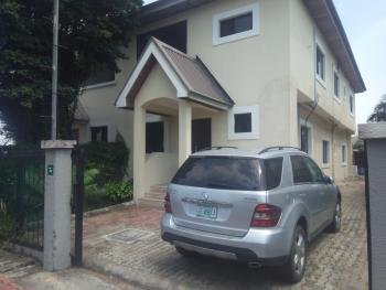 a Very Well Maintained 4 Bedroom Semi Detached House (water-front) with Bq in a Mini-estate, Osborne, Ikoyi, Lagos, Semi-detached Duplex for Sale