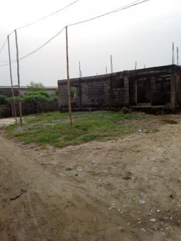 Uncompleted Building of  4 Flats of 3 Bedrooms, Sitting on Full Plot, Elesekan, Bogije, Ibeju Lekki, Lagos, Block of Flats for Sale