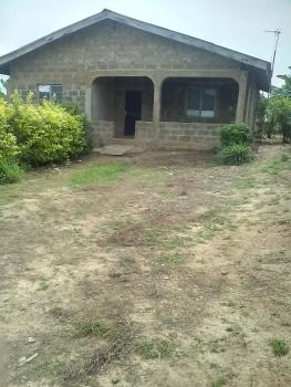 2  Nos Rooms & Parlor with Additional 2 Rooms, Asiwaju Quarters, Behind Kara Industrial Estate, Ibafo, Ogun, Detached Bungalow for Sale