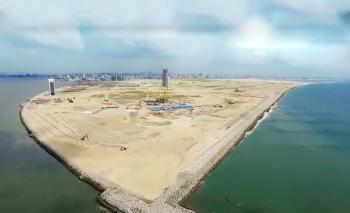 Bare Land Measuring 3443 Meter Square, Eko Atlantic City, Lagos, Mixed-use Land for Sale