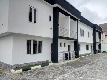 New and Well Finished 3 Bedroom Terrace Duplex with a Room Bq and Ample Parking Space, Ikota Villa Estate, Lekki, Lagos, Terraced Duplex for Sale