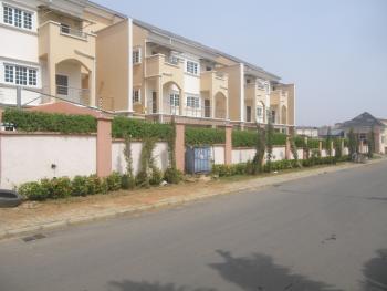 Serviced 4 Bedrooms, 2 Sitting Rooms + Bq, Jabi, Abuja, Terraced Duplex for Rent