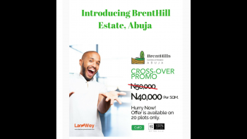Brenthills Estate Abuja (title: C of O) (instant Allocation ) Promo Presently on., Maitama Estension, Maitama District, Abuja, Mixed-use Land for Sale