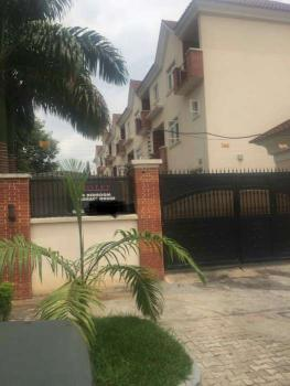 a Well Fitted 4 Bedroom Terrace Duplex with Swimming Pool, Euphrates Street, Maitama District, Abuja, Terraced Duplex for Rent