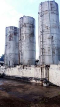 Flour Mill  on 5 Acres of Land, Ijabe Town, Before Oshogbo, Odo Otin, Osun, Factory for Sale