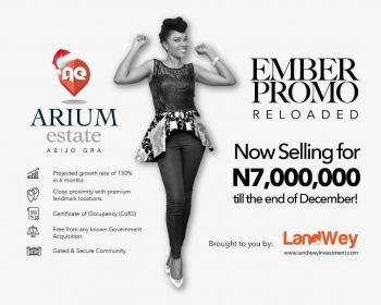 a Plot of Dry and Firm Land at Arium Estate Abijo, Ibeju-lekki, Abijo Gra, Ibeju-lekki, Lekki, Eputu, Ibeju Lekki, Lagos, Residential Land for Sale