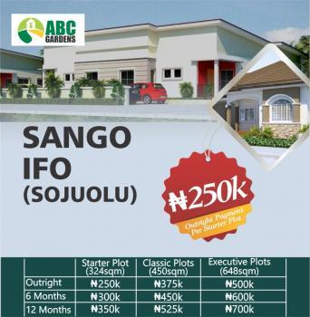 Land, Sango Ifo Sojuolu, Ifo, Ogun, Residential Land for Sale