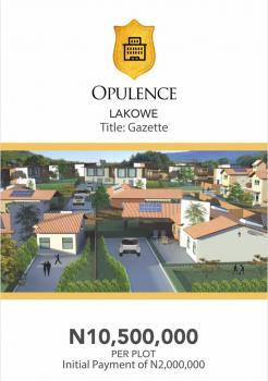 Land, Opulence Estate, Lakowe, Ajah, Lagos, Residential Land for Sale