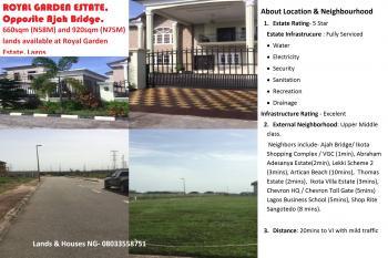 660sqm  Land, Royal Garden Estate, Vgc, Lekki, Lagos, Residential Land for Sale