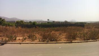 Strategically Located & Fenced Corner Piece Residential Investment Landuse, Gilmore Infrastructured Area Opposite Diplomatic Zone( Katampe Extension), Jahi, Abuja, Residential Land for Sale