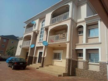 a Decently Maintained 2 Bedroom Serviced Apartment in a Block of 6 Flats, Close to Christ Embassy / American International School, Durumi, Abuja, Flat for Rent