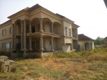 Uncompleted 5 Bedroom Duplex with 2 Bedroom Guest Room, 64crescent, After Charly Boy, Gwarinpa Estate, Gwarinpa, Abuja, Detached Duplex for Sale