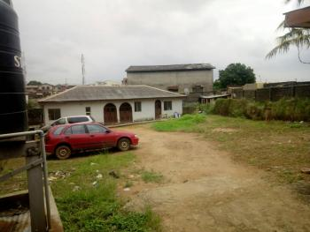 a Plot and Quarter of Land Consisting of 2 Units of 2 Bedroom Bungalow and 3 Numbers of Shops Facing The Street at Ilamoshe Estate, Ilamoshe Estate, Off Ajao Estate-nnpc Depot Link Road, Oke Afa, Isolo, Lagos, Oke Afa, Isolo, Lagos, Detached Bungalow for Sale