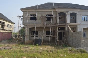 a 4-bedroom Semi -detached Duplex with Twin Self-contained Bq {carcass}, Apo - Lokogoma Expressway, Lokogoma District, Abuja, Semi-detached Duplex for Sale