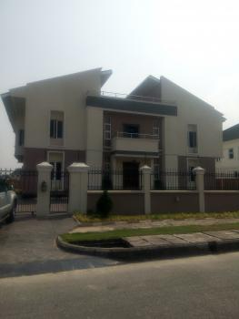 5 Bedrooms Fully Detached Mansion + Bq, All Rooms En Suite, Very Large Master's Bedroom, Fitted Kitchen on 900m2 of Land, Pinnock Beach Estate, Off Jakande Roundabout By Shoprite, Nicon Town, Lekki, Lagos, Detached Duplex for Sale