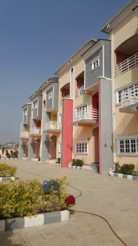 Newly Built 6 Units of 3 Bedroom Terrace Duplex with with a Room Bq, Guzape District, Abuja, Terraced Duplex for Sale
