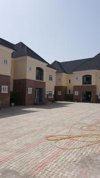 Newly Built 4 Units of 4 Bedroom Semidetached Duplex with a Room Bq,fitted Kitchen,etc, Guzape District, Abuja, Semi-detached Duplex for Sale