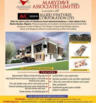 Luxury Semi-detached 4 Bedroom Duplex, Akobo, Ibadan, Oyo, Semi-detached Duplex for Sale