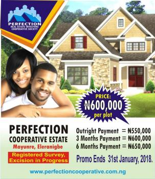 Perfection Cooperative Estate, Perfection Cooperative Estate, Eleranigbe, Ibeju Lekki, Lagos, Land for Sale