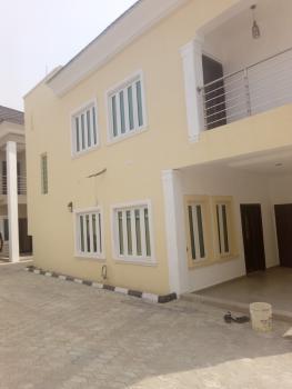 Brand New 4 Bedroom Duplex with  Bq and Just Two Tenants, Before Sangotedo, Shoprite, Peninsula Garden Estate, Ajah, Lagos, Terraced Duplex for Rent