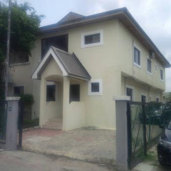 Water Front 4 Bedroom Semi Detached House with 2 Room Bq with Pool Gym and Jetty, Osbourne Phase 1, Osborne, Ikoyi, Lagos, Semi-detached Duplex for Sale