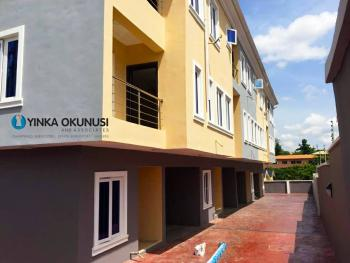 a Newly Built Luxury 4 Numbers of 4 Bedrooms Terrace Duplexes with a Room Bq Each with Good Facilities, in a Serene Area at Omofade Crescent, Off Agidingbi Road, Omole Phase 1, Ikeja, Lagos, Terraced Duplex for Sale