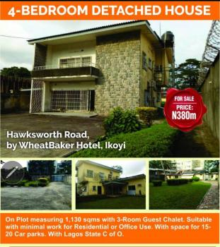 4 Bedroom Detached House Sitting on 1,130sqm with 3 Room Guest Chalet, Hawksworth Rd, By Wheatbaker Hotel, Old Ikoyi, Ikoyi, Lagos, Detached Duplex for Sale