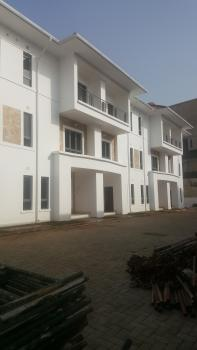Newly Built 6 Units of 4 Bedroom Terrace Duplex with Excellent Finishing, a Room Bq, Fitted Kitchen, Etc, Guzape District, Abuja, Terraced Duplex for Sale