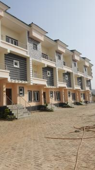 Luxury 6 Units of 4 Bedroom Terrace Duplex with a Room Bq, Fitted Kitchen,etc, Guzape District, Abuja, Terraced Duplex for Sale