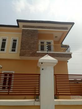 Newly Built Tastefully Well Finish 4 Bedroom Semi Detached House with Fitted Kitchen and Bq, Agungi, Lekki, Lagos, Semi-detached Duplex for Rent