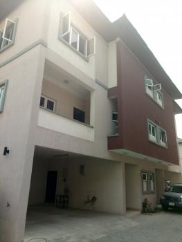 Lovely Serviced 4 Bedroom Terrace Town House with a Bq, Osapa, Lekki, Lagos, Terraced Duplex for Rent