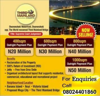 Third Mainland Courts, Iyana Oworo Water Front, Oworonshoki, Shomolu, Lagos, Residential Land for Sale