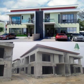 Luxury Built 4 Bedroom (+bq) Semi Detached Duplex in a Gated and Well Planned Estate with Excellent Facilities, Canaan Estate, Ajah, Lagos, Semi-detached Duplex for Sale
