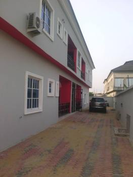 New 3 Bedroom Flat Downstairs, Hi-tech Estate Beside Lagos Business School, Sangotedo, Ajah, Lagos, Flat for Rent