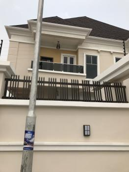 Luxury 4 Bedroom Semi-detached Duplex with a Room Bq, Chevron Drive, Chevy View Estate, Lekki, Lagos, Detached Duplex for Sale