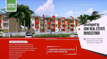 Luxury 5 Bedroom Apartments, By Mr Biggs, Jabi, Abuja, Semi-detached Duplex for Sale