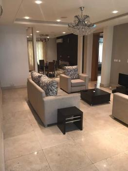 Well Furnished 3 Bedroom Apartment, Osboure Foreshore 1, Osborne, Ikoyi, Lagos, Flat for Rent