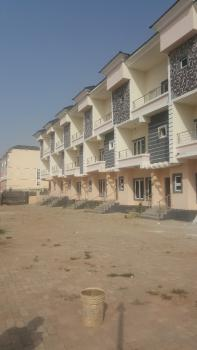 4 Bedroom Terrace Duplexes with a Maids Room Each, All Rooms En Suite, Guzape District, Abuja, Terraced Duplex for Sale