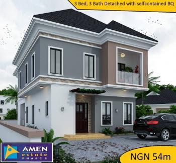 Luxury 3 Bedroom Fully Detached House + Bq @ Amen Estate, Amen Estate 2, Eleko Beach Road Ibeju Lekki.via Ajah Lagos Nigeria, Eleko, Ibeju Lekki, Lagos, Detached Duplex for Sale