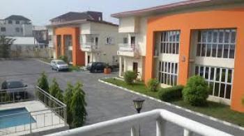 Tastefully Finished 4 Bedroom Semi-detached House +1 Room Bq, Pool, 24hrs Light Etc in a Mini Estate, Along Chevron Drive, Lekki, Lagos, Semi-detached Duplex for Rent