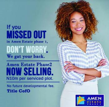Amen Estate, Eleko, Ibeju Lekki, Lagos, Residential Land for Sale