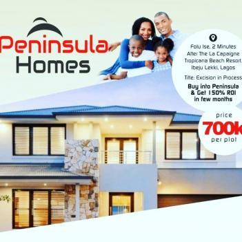 Peninsula Homes Phase 1, Akodo Ise, Ibeju Lekki, Lagos, Residential Land for Sale