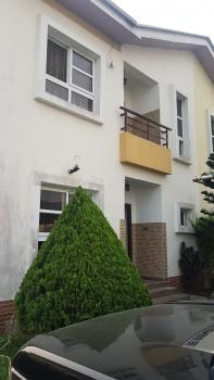 Partly Furnished/improved 4 Bedroom Semi-detached House with a Maids Room, Friends Colony, Agungi, Lekki, Lagos, Semi-detached Duplex for Rent