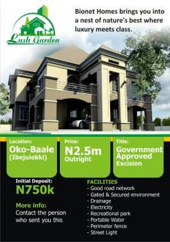 Lush Garden Estate, Oke Baale, Ibeju Lekki, Lagos, Residential Land for Sale