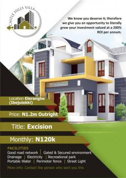 Castle Hill Villa Estate, Eleranigbe, Ibeju Lekki, Lagos, Residential Land for Sale