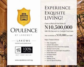 Plot of Land, Lakowe, Ibeju Lekki, Lagos, Residential Land for Sale