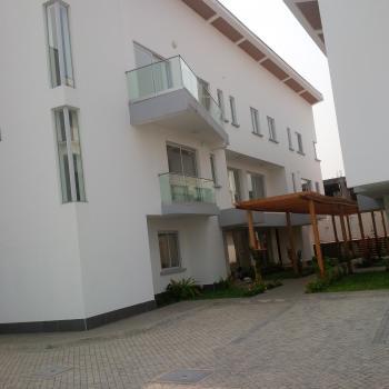 Luxury Beautiful 3 Bedroom Terrace with Pool and 1 Bq, Banana Island, Ikoyi, Lagos, Terraced Duplex for Rent