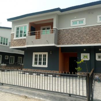 Newly Built 4 Bedroom Semi Detached House with a Room Bq, By Chevron Drive, Lekki Gardens Estate, Ajah, Lagos, Semi-detached Duplex for Rent